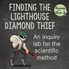 Let your high school or middle school science class solve the crime while they practice applying the scientific method! Lab instructions, student and teacher worksheets, and materials lists for the activity are included. Science Inquiry, 7th Grade Science, Science Curriculum, Middle School Science, Elementary Science, Science Classroom, Science Lessons, Science Education, Life Science