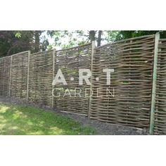 Bordure de jardin acacia tress e bordure de jardin bordure et tresser - Bordure jardin tressee ...