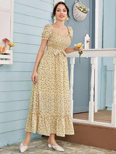 Simple Dress For Girl, Simple Dresses, Cute Dresses, Stylish Dresses For Girls, Frocks For Girls, Stylish Tops For Women, Beautiful Dress Designs, Beautiful Dresses, Indian Fashion Dresses
