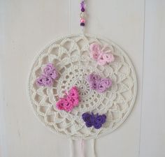 Ingedingen Crochet Baby Toys, Crochet Birds, Yarn Crafts, Diy And Crafts, Crochet Dreamcatcher, Buy Toys, Dream Catchers, Wind Chimes, Macrame