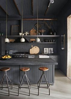 New Kitchen Interior Industrial Islands Ideas