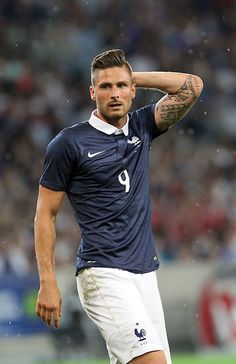Olivier Giroud's arm tattoo