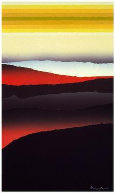 """Arthur Secunda"" Fine Art Prints Greatest Sunsets and Mountains"