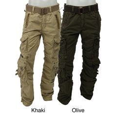 Kanji Men's Cargo Pants - Overstock™ Shopping - Big Discounts on Casual Pants