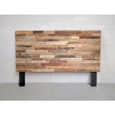 Recycled Pallet Wood Headboard Or Bed Custom Reclaimed King Queen Full 195