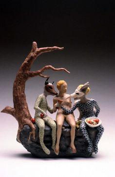 Carrieanne Hendrickson. teapot; Goblin Market  Love this!
