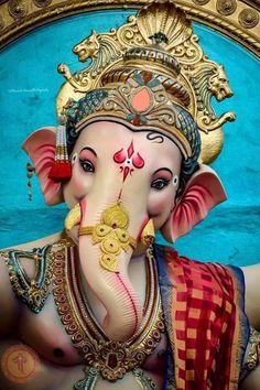 Ganesh Chaturthi Decoration, Ganesh Chaturthi Images, Shri Ganesh Images, Ganesha Pictures, Ganesha Tattoo, Ganesha Art, Ganpati Bappa Wallpapers, Ganesh Bhagwan, Ganpati Picture