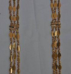 Kerala Jewellery, India Jewelry, Temple Jewellery, Fine Jewelry, Gold Jewellery, Simple Necklace, Necklace Set, Moon Jewelry, Jewelry Patterns