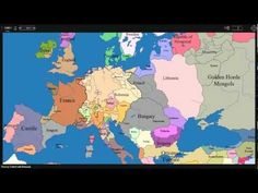 The Historical Evolution of Europe's Borders