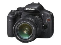 Best entry level dSLRS Canon EOS Rebel T2i (with 18-55mm lens) shown here