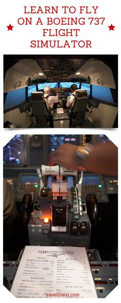 Learn to fly on a Boeing 737 flight simulator. Taking off and landing at Hong Kong's Kai Tak airport is an experience to remember and it's fun to try it on a Boeing 737 flight simulator.