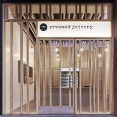 Pressed Juicery | Standard | Archinect