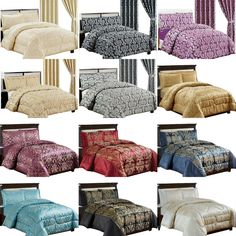 Pillow Case (Single Set Includes Only 1 Pillow Case). Luxury Bedspreads, Bedspreads Comforters, Quilted Bedspreads, Comforter Sets, Duvet, Gray Bedspread, Satin Bedding, Bed Throws, King Beds