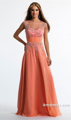 http://www.ikmdresses.com/2014-Bateau-Neckline-Beaded-Bodice-Tulle-And-Chiffon-Prom-Dress-Ruffled-With-Sweep-Train-p84197
