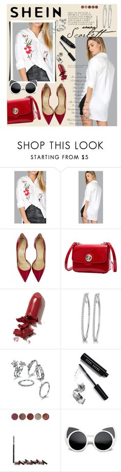 """""""Bez naslova #224"""" by sabina-mehic123 ❤ liked on Polyvore featuring Christian Louboutin, LAQA & Co., Bobbi Brown Cosmetics and Blend Minerals"""