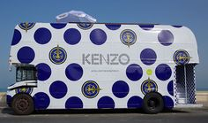 The Kenzo Fashion Bus Offers Designer Style On the Go #business trendhunter.com