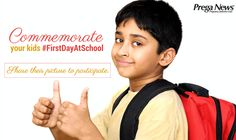 #FirstDayAtSchool #Contest