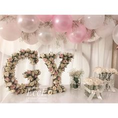 40 cm high table decor letters in the desired color and round flowers .- 40 cm yuksekligindeki masa dekoru harflerimiz istenilen renkte ve turde cicekle … 40 cm high table decor letters can be … - Engagement Decorations, Wedding Decorations, Table Decorations, Floral Bedroom Decor, Before Wedding, Birthday Decorations, Wedding Designs, Wedding Engagement, Wedding Cards