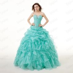 Stock NEW Bead Quinceanera Evening Dress Formal Pageant Party Dress Ball Gown 2+ #Handmade #BallGown #Formal