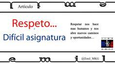 #Cliente busca respeto...  #Respeto... Difícil asignatura.