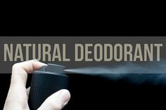Our followers could use our herbal deodorant recipe to make natural deodorant at…