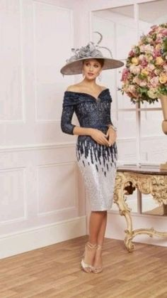 Mother Of The Bride Fashion, Mother Of The Bride Dresses Long, Mother Of Bride Outfits, London College Of Fashion, Full Skirt Dress, Estilo Fashion, Designer Wedding Dresses, Dress Wedding, Wedding Outfits