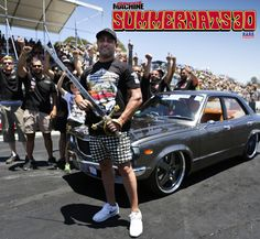 Want to get your Photo or Video from Summernats shared on our Social Media? Simple #Summernats Summernats Grand Champ style! #FATRX3 #summernats30 #summernats #mazda #grand #champion #sword #rotary The Summernats Instagram is a cool place to check out all the goodness from the Summernats Car Festival. @summernatscarfestivalaustralia