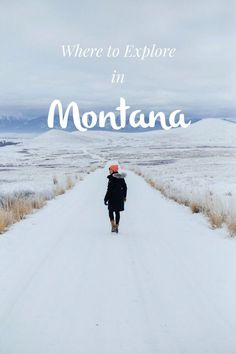 Your guide to winter travel in Montana. From soaking in hot springs to communing with nature, you'll find plenty to do.