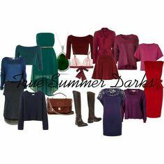 Summer jewel tones