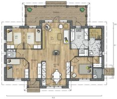 Bungalow, Sims, Future House, House Plans, Sweet Home, Floor Plans, Layout, Apartments, House Ideas