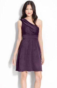 d08de6ecccd0f2 Jenny Yoo Hammered Satin One Shoulder Dress
