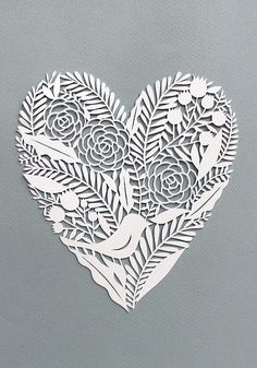 Heart paper cut | Flickr : partage de photos !