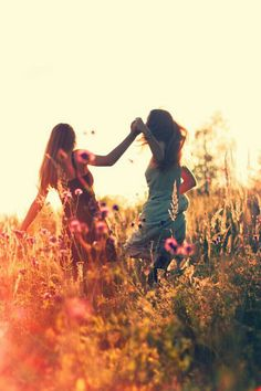 There's a time to dance with your best friend. ♥