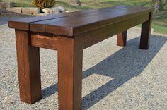 approx $24 in lumber  KRUSE'S WORKSHOP: Simple Indoor/Outdoor Rustic Bench Plan