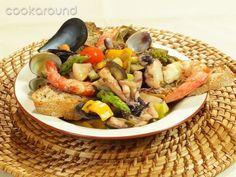 Zuppa di pesce alla verdure: Ricette di Cookaround | Cookaround