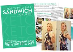 """""""I've tried reading many different articles on starting keto and none have been as clear and straight forward as yours."""" – Sarah B. In this guide you will find the exact met… Paleo Ideas, 7 Day Meal Plan, Starting Keto, Sandwiches For Lunch, Online Support, Keto For Beginners, Atkins, Ketogenic Diet, 6 Months"""