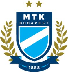 MTK Hungaria Budapest of Hungary crest. Otp Bank, Fifa, Jersey Atletico Madrid, Football Team Logos, Sports Clubs, Sports Logos, Budapest Hungary, Chicago Cubs Logo, Man Stuff