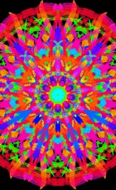 Kaleidoscope. Wish I still had my kaleidoscope.