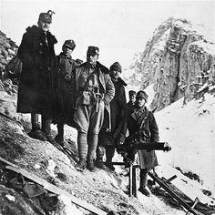 Austrian soldiers. Italian front