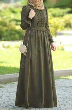 like this colour Abaya Fashion, Modest Fashion, Fashion Dresses, Muslim Women Fashion, Islamic Fashion, Hijab Dress Party, Hijab Outfit, Mode Abaya, Mode Hijab