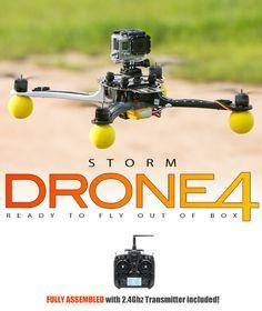 STORM Drone 4 Flying Platform - Storm-Drone-4-DEVO7