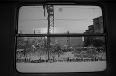 Zagreb. Croatia. View from a train. By César Dezfuli Rello #Zagreb #Croatia #Europe