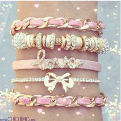 Cute bracelets :)