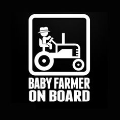 Pregnant On Board Sticker Decal Vinyl baby safety #1
