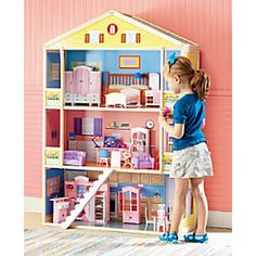 KidKraft Modern Mansion Dollhouse with Lights and Sounds Toy