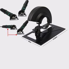 Variable Angle Grinder Cutting Machine Conversion Tool Angle Grinder Holder Safety Shield DIY Tools For Woodworking