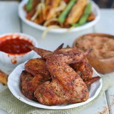 Crispy Baked Jerk Chicken Wings