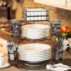 Giftburg Stackable Buffet Caddy Party Spoons Forks Cutlery for sale online Kitchen Items, Kitchen Gadgets, Kitchen Dining, Kitchen Decor, Kitchen Cabinetry, Kitchen Utensils, Kitchen Organization, Kitchen Storage, Buffet Set