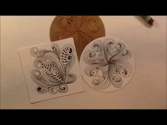 Floo Tangle Pattern Lesson #49 - YouTube