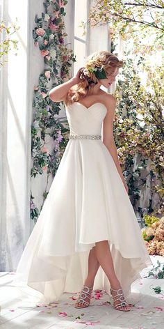 high low wedding gowns 4